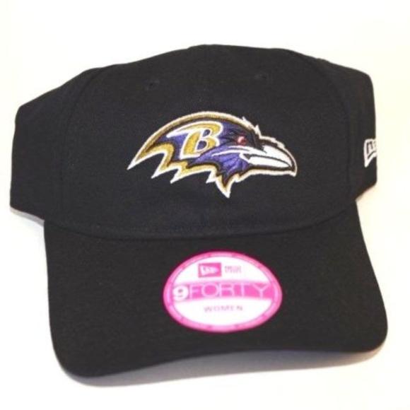reputable site dc6b8 899d1 Women s New Era Baltimore Ravens 9Forty Cap